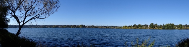 Panorama of Green Lake